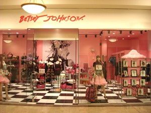 Betsy Johnson store front exterior shot