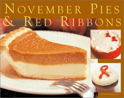 November Pies & Red Ribbon Photo for blog Nov. 2009