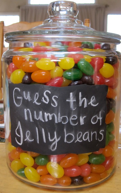 Guess The Number Of Jellybeans Carousel Cakes