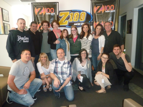 Carousel Cakes Visits Z100